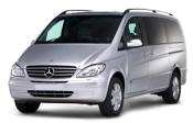 Chauffeur driven Mercedes Viano people carrier - Up to 7 passengers in comfort, from Cars for Stars (Southampton) - Airport Transfer Services